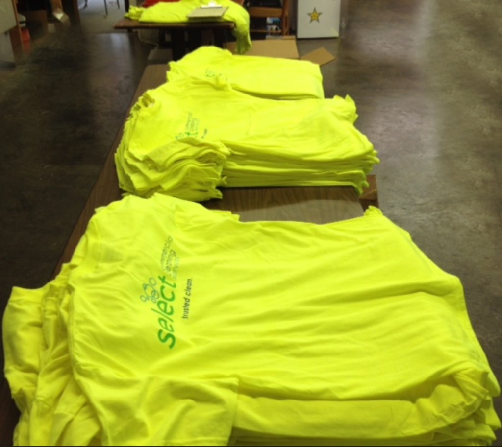Exposure & Marketing with Custom T-Shirts
